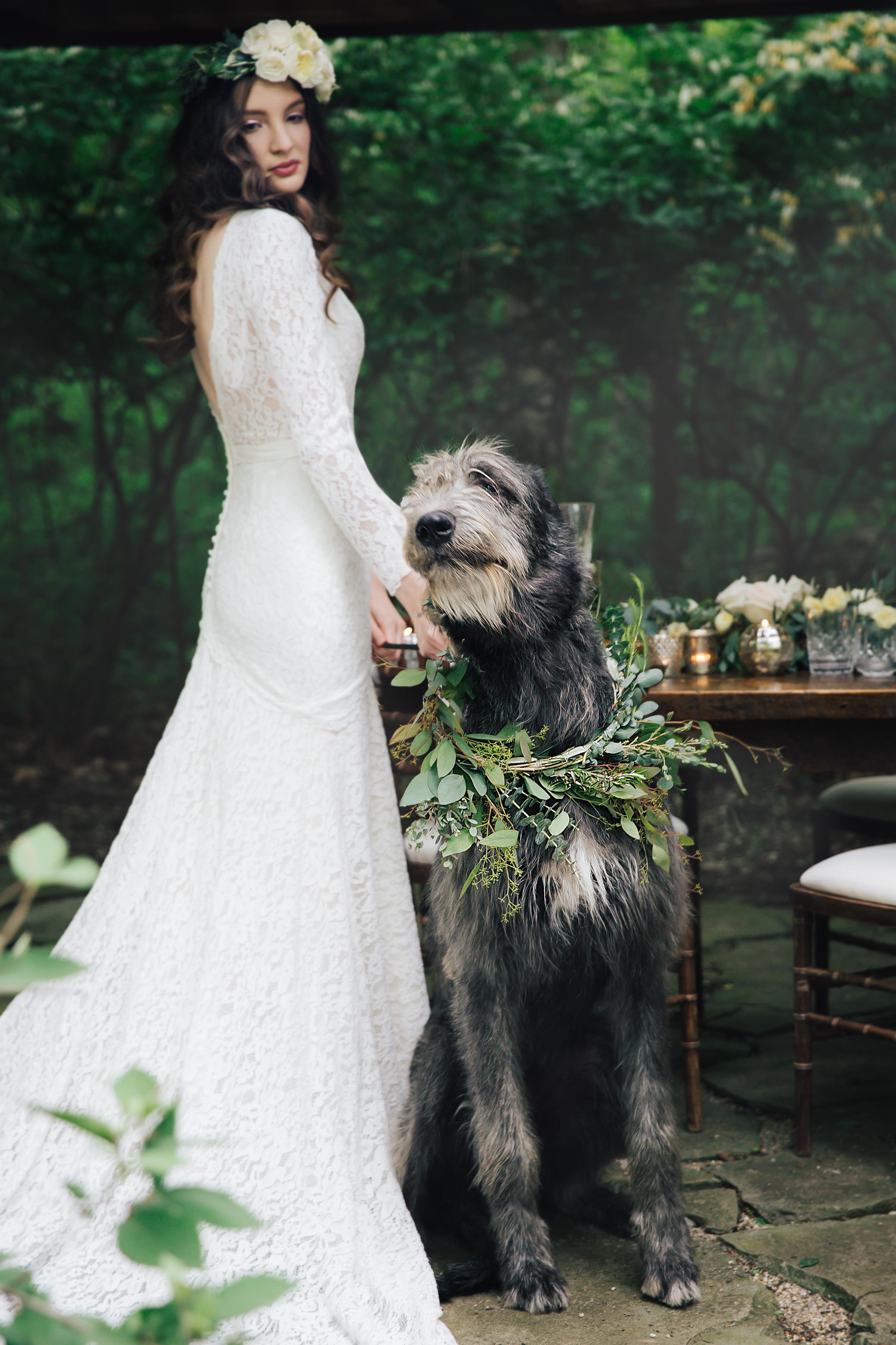 Subtly Irish Romantic Wedding Inspiration | B. Loved Bridal