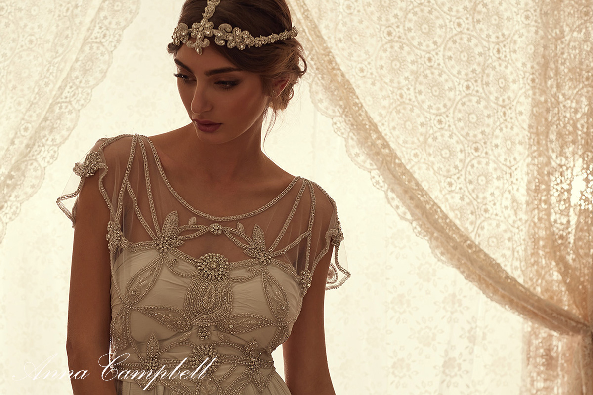 Lace Wedding Dress Anna Campbell Fashion Dresses